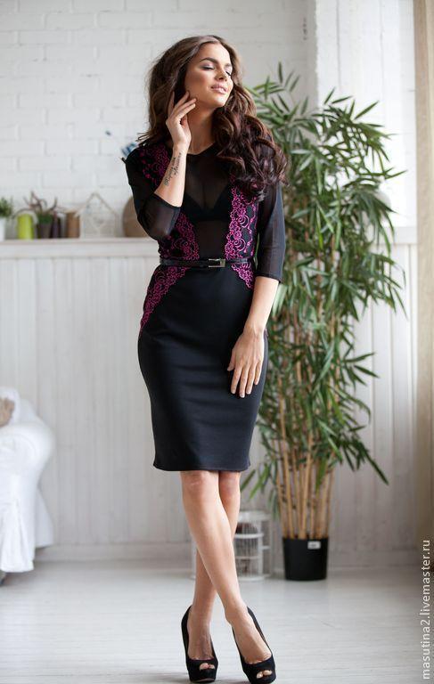 """Платья ручной работы. Ярмарка Мастеров - ручная работа. Купить Платье """"Грейс"""". Handmade. Черный, вечернее платье, джерси"""