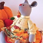 Куклы и игрушки ручной работы. Ярмарка Мастеров - ручная работа Мышка садово - урожайная. Handmade.