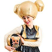 Одежда handmade. Livemaster - original item Golden Doll Costume. Handmade.