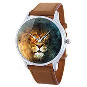Украшения ручной работы. Ярмарка Мастеров - ручная работа Дизайнерские наручные часы Leo Brown. Handmade.