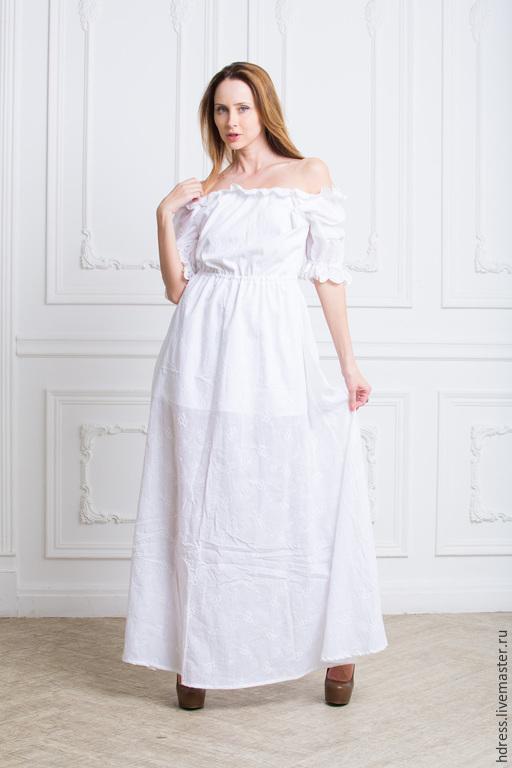 Платья с хлопковым кружевом фото