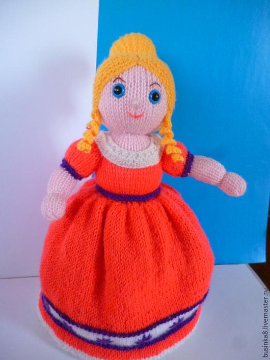 Кукла-перевертыш `Золушка`. вязаная кукла. Сказочные персонажи ручной работы. вязаные игрушки