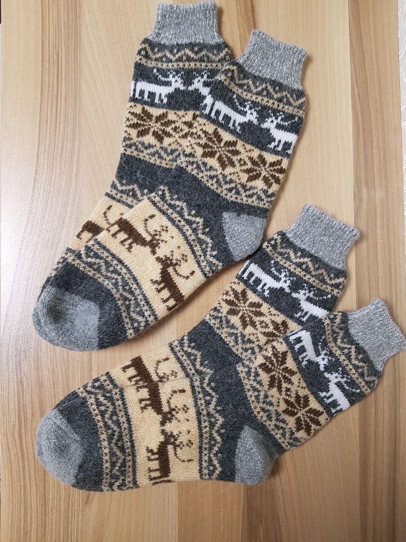 Knitted socks Warm wool socks Winter socks Men's socks, Socks, Volgograd,  Фото №1