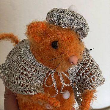 Куклы и игрушки ручной работы. Ярмарка Мастеров - ручная работа Мышка Рыжуня. Handmade.