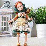 Куклы и игрушки handmade. Livemaster - original item Author`s doll Marusya (milkmaid). Handmade.