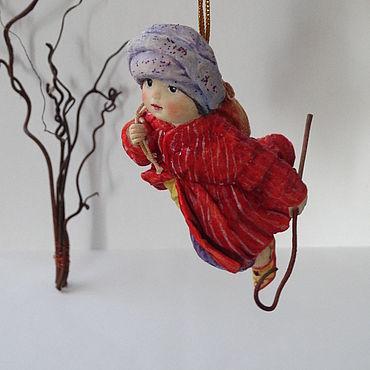 """Куклы и игрушки ручной работы. Ярмарка Мастеров - ручная работа Ватная игрушка """"Маленький мук"""". Handmade."""