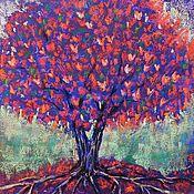 Картины и панно handmade. Livemaster - original item Tree Of Love. Handmade.
