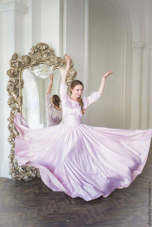 платье в пол  женское купить в Москве Shanetka +79260369302