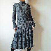 Платье вязаное из Кашемира