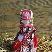 Куклы и игрушки handmade. Livemaster - original item Doll amulet successful Folk doll made of fabric. Handmade.