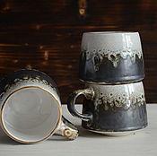 Посуда handmade. Livemaster - original item Volcanic Cup with gilding. Handmade.