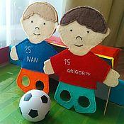 Куклы и игрушки ручной работы. Ярмарка Мастеров - ручная работа Футболисты. Handmade.