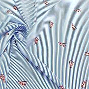 Материалы для творчества handmade. Livemaster - original item FABRIC DRESS-BRUSOCHKA STRETCH FROM EURO-TEX SRL. Handmade.