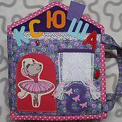 Куклы и игрушки handmade. Livemaster - original item dollhouse. educational book.. Handmade.