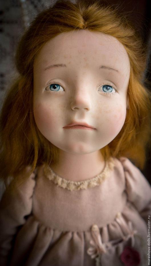 Коллекционные куклы ручной работы. Ярмарка Мастеров - ручная работа. Купить Абрикосовое мороженое. Handmade. Кремовый, living doll