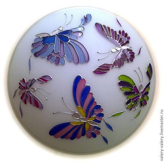"""Освещение ручной работы. Ярмарка Мастеров - ручная работа. Купить Бра """" Бабочки"""".. Handmade. Светильник, подарок для дома"""