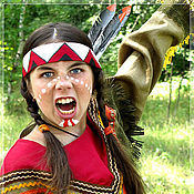 Одежда handmade. Livemaster - original item Indian (carnival costume). Handmade.
