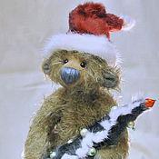 Куклы и игрушки ручной работы. Ярмарка Мастеров - ручная работа Мишка тедди Санта-Клаус. Handmade.