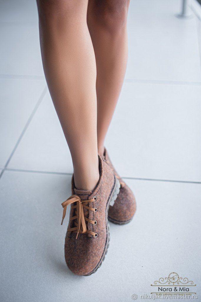 Туфли женские валяные Краски Осени, Туфли, Днепр,  Фото №1