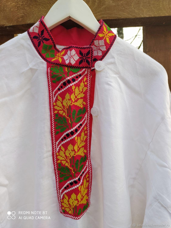 Рубаха мужская, Народные рубахи, Брянск,  Фото №1