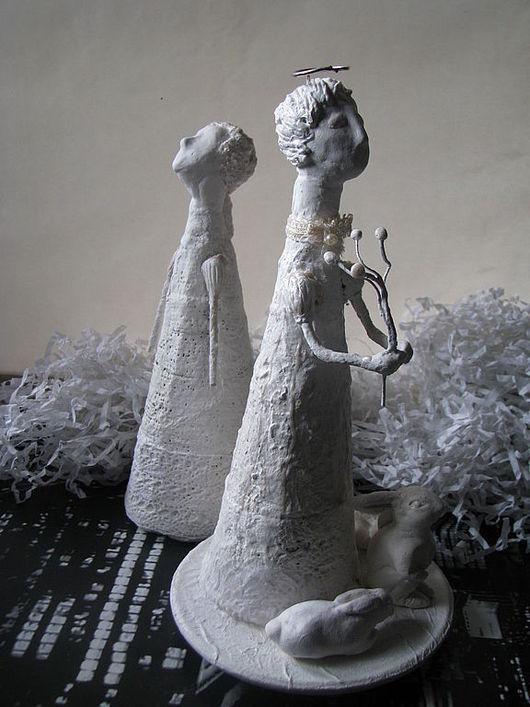 """Человечки ручной работы. Ярмарка Мастеров - ручная работа. Купить """"Заячий Ангел"""" ручная работа. Handmade. Ангел-хранитель"""