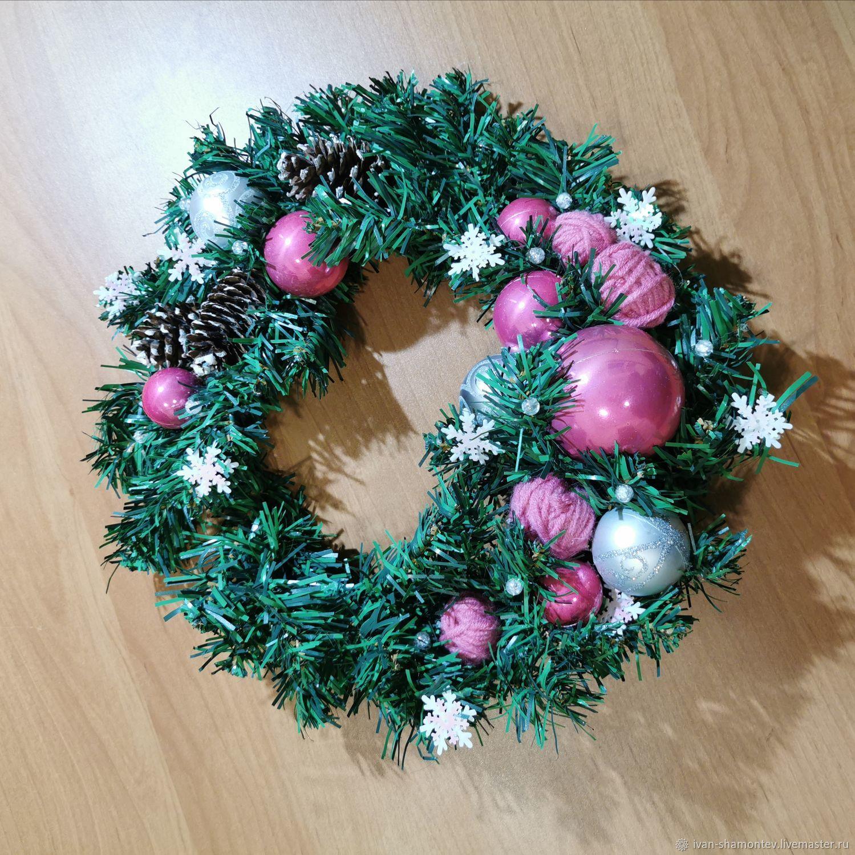 Рождественский венок, Украшения, Кострома,  Фото №1