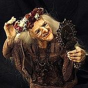 Куклы и игрушки ручной работы. Ярмарка Мастеров - ручная работа Баба Яга in love. Handmade.