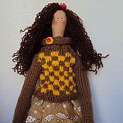 Куклы и игрушки ручной работы. Ярмарка Мастеров - ручная работа Куколка Тильда. Handmade.