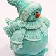 Soap Snowman. Soap. Dushamila 5 (krasivoe-myllo). Online shopping on My Livemaster.  Фото №2