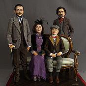 Куклы и игрушки ручной работы. Ярмарка Мастеров - ручная работа Семейный портрет. Портретные куклы. Handmade.