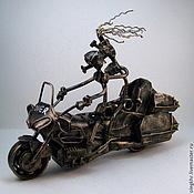 Сувениры и подарки handmade. Livemaster - original item Lovers on the bike. Handmade.