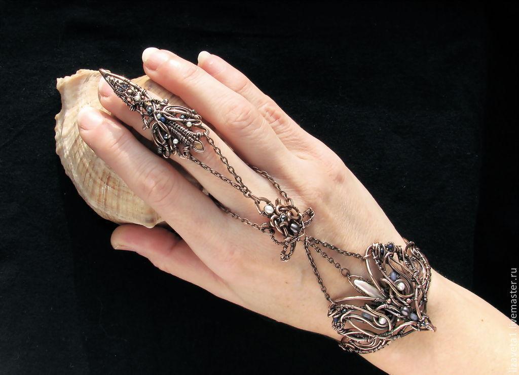 Jewelry Sets Handmade Livemaster Of Magic Bracelet Slave