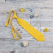 Аксессуары handmade. Livemaster - original item Children`s bow tie yellow. Handmade.