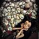 Коллекционные куклы ручной работы. Тара-многоликая богиня, шарнирная кукла. Инна Павлова. Ярмарка Мастеров. Готика, японский шёлк