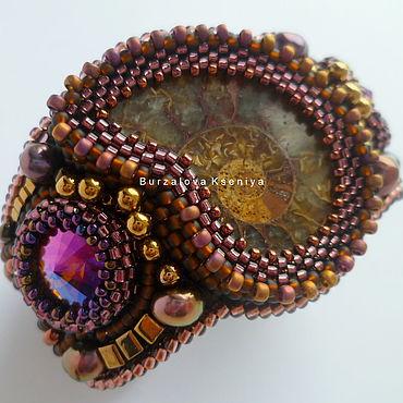 """Украшения ручной работы. Ярмарка Мастеров - ручная работа Браслет """"Cherry ammonite"""". Handmade."""