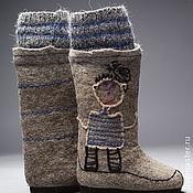 """Обувь ручной работы. Ярмарка Мастеров - ручная работа Валенки """"Lora Pavlova"""" """"Папа-рыбак"""". Handmade."""