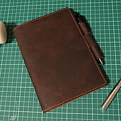 Блокноты ручной работы. Ярмарка Мастеров - ручная работа Кожаный блокнот. Handmade.