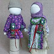"""Куклы и игрушки ручной работы. Ярмарка Мастеров - ручная работа Кукла-неразлучники """"Парочка"""". Handmade."""