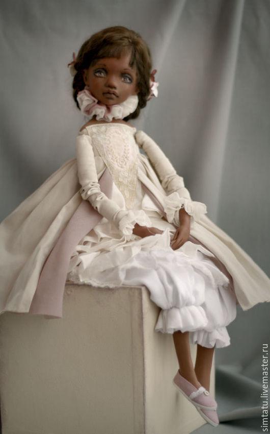 Коллекционные куклы ручной работы. Ярмарка Мастеров - ручная работа. Купить Филиппа. Подвижная кукла.. Handmade. Подвижная кукла, принцесса