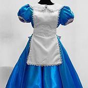 "Одежда handmade. Livemaster - original item Alice ""Alice in Wonderland"". Animator-actor suit. Handmade."
