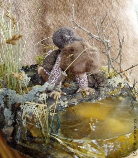 Коллекционные куклы ручной работы. Ярмарка Мастеров - ручная работа. Купить Мертвецкие болота. Handmade. Коричневый, коллекционная кукла, толкиен