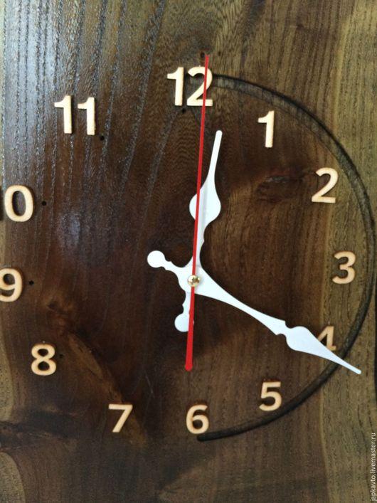 Часы для дома ручной работы. Ярмарка Мастеров - ручная работа. Купить Часы настенные, из дерева КАРАГАЧ.. Handmade. Карагач, ясень