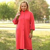 """Одежда handmade. Livemaster - original item Knitted cardigans """"Stylish"""" in the coral color. Handmade."""