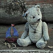 Мягкие игрушки ручной работы. Ярмарка Мастеров - ручная работа Старенький советский мишка  (выкройка 1944 года). Handmade.