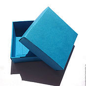 """Коробки ручной работы. Ярмарка Мастеров - ручная работа Коробочка """"крышка-дно"""" разные размеры и цвета. Handmade."""