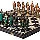 Настольные игры ручной работы. Ярмарка Мастеров - ручная работа. Купить Шахматы Русские и Крестоносцы (фигуры из хлеба, складная доска) 34660. Handmade.