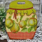 Для дома и интерьера ручной работы. Ярмарка Мастеров - ручная работа Разделочная доска Яблочное варенье. Handmade.