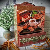 Для дома и интерьера ручной работы. Ярмарка Мастеров - ручная работа Чайный буфет. Handmade.