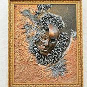 """Картины и панно ручной работы. Ярмарка Мастеров - ручная работа 3D картина """"Маска"""". Handmade."""