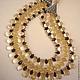 NECKLACE 3 strands of ogran. CITRINE, SMOKY QUARTZ. Necklace. Dorida's Gems (Dorida-s-gems). My Livemaster. Фото №5